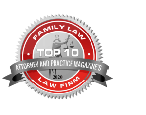 2020 Family Law Top 10 Law Firm from Attorney and Practice Magazines